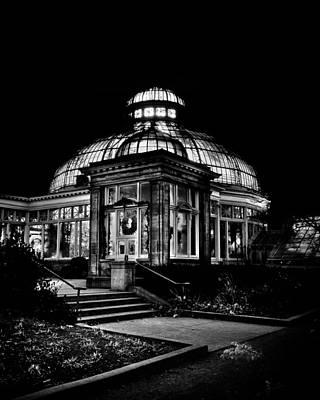 Allan Gardens Conservatory Palm House Toronto Canada Print by Brian Carson