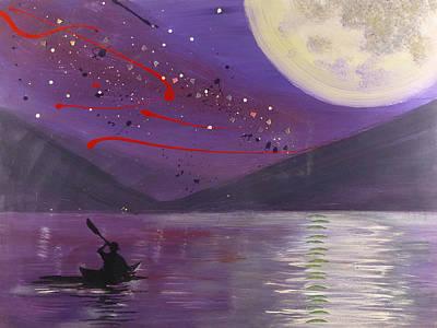 Allegheny Moon Original by Jack Hanzer Susco