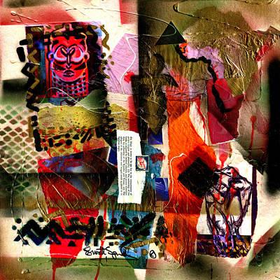 Wynton Marsalis Mixed Media - Allegories Of Liberty by Everett Spruill