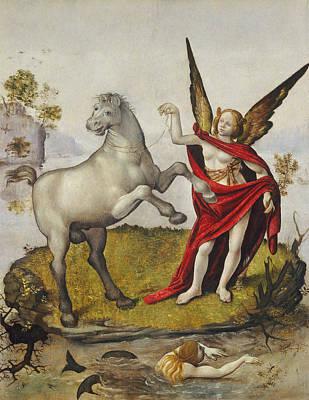 Unicorn Painting - Allegory by Piero di Cosimo