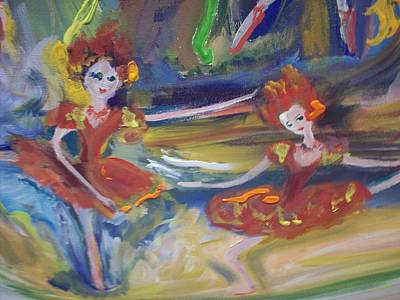 Allegro And Andante Print by Judith Desrosiers