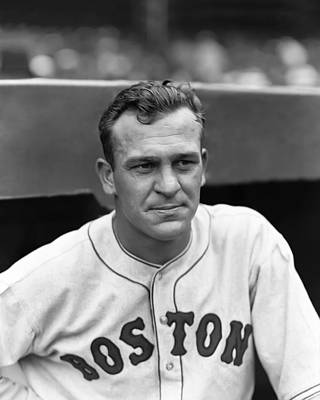 Red Sox Photograph - Allen L. Dusty Cooke by Retro Images Archive