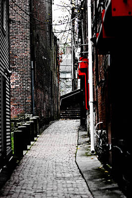 Photograph - Alley by Allan Millora