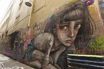 Alley Graffiti #2 Print by Stuart Litoff