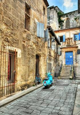 Southern France Photograph - Alley In Arles by Mel Steinhauer