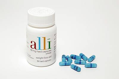 Obesity Photograph - Alli Weight-loss Drug by Victor De Schwanberg