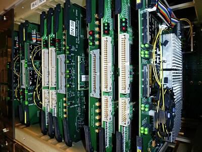 Alma Correlator Supercomputer Print by European Southern Observatory