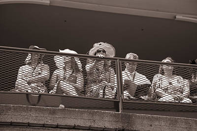 Almost Race Time At Churchill Downs Print by John McGraw