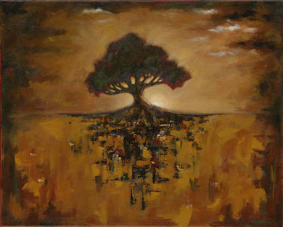 Alone Amongst Chaos Original by Grant Lounsbury