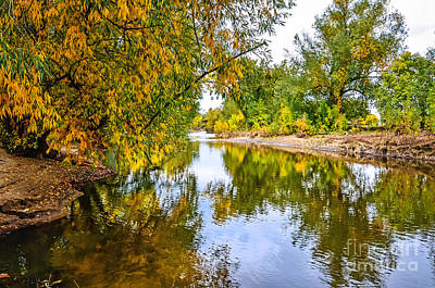 Along The Poudre Print by Baywest Imaging