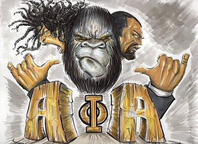 Alpha Phi Alpha Fraternity Inc Print by Tu-Kwon Thomas