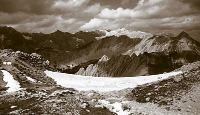 Photograph - Alpine Landscape by Frank Tschakert