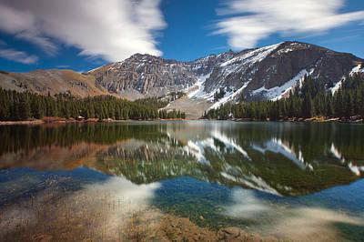 Fresh Air Photograph - Alta Lakes by Darren  White