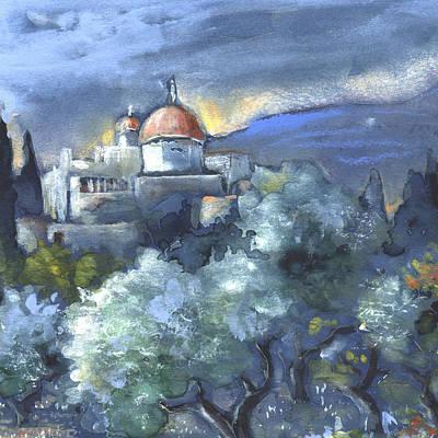 Altea Painting - Altea 07 by Miki De Goodaboom