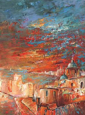 Altea Painting - Altea 08 by Miki De Goodaboom