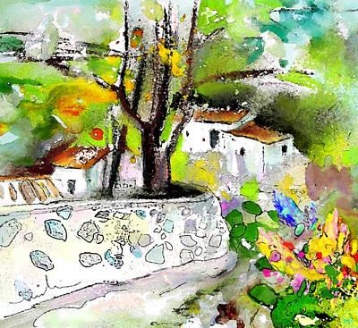 Altea Painting - Altea La Vieja 04 by Miki De Goodaboom