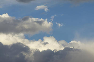 Photograph - Altocumulus Clouds by Jon Van de Grift