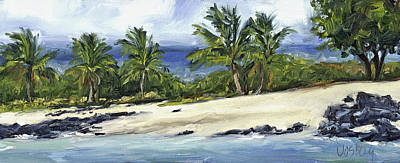 Haleiwa Painting - Alula Beach by Stacy Vosberg