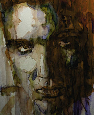 Rock Poster Painting - Always On My Mind by Paul Lovering