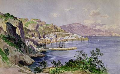 On Paper Painting - Amalfi by Ludwig Hans Fischer