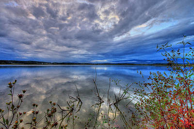 Autumn Photograph - Amazing Lake Sunset by Ivan Slosar