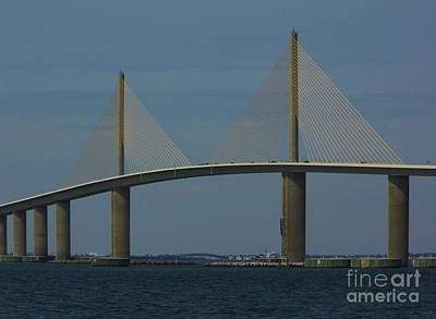 Amazing Skyway Bridge Print by D Hackett