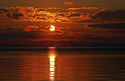 Aimeemaher Photograph - Amazing Sunset by Aimee L Maher Photography and Art Visit ALMGallerydotcom