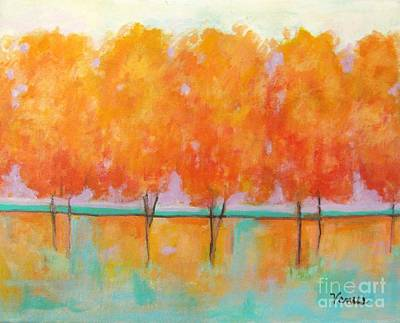 Painting - Amber Harmony by Venus