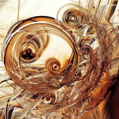 Amber Magic Print by Anastasiya Malakhova