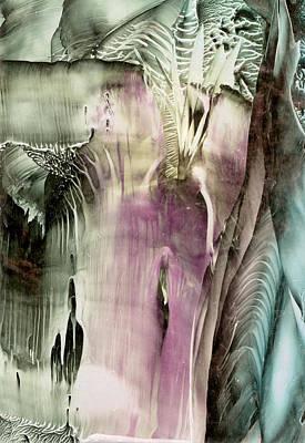 Hot Wax Painting - Ambrosia by Cristina Handrabur