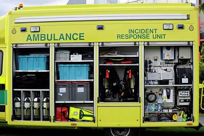 Ambulance Incident Response Unit Print by Public Health England