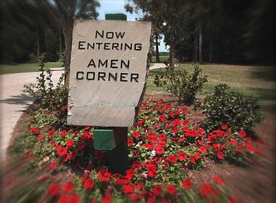 Amen Corner - A Golfers Dream Print by Ella Kaye Dickey