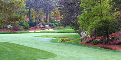 Augusta Golf Photograph - Amen Corner by Tim Schmidt