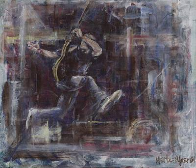 Pearl Jam Painting - Ament by Josh Hertzenberg