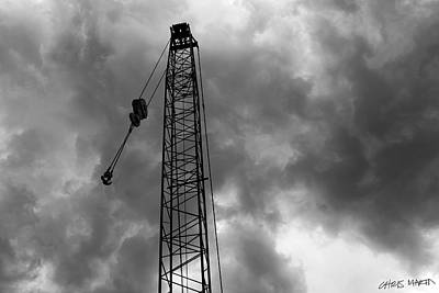 Chris Martin Photograph - American 8460 Crane Boom by Chris Martin