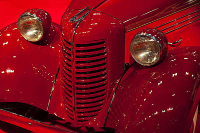 Classic Auto Photograph - American Bantam Roaster by Garry Gay