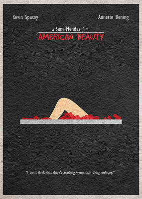Kevin Drawing - American Beauty by Ayse Deniz