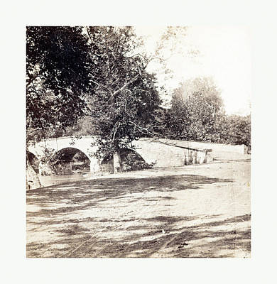 Outlook Photograph - American Civil War Burnside Bridge, Antietam by American School