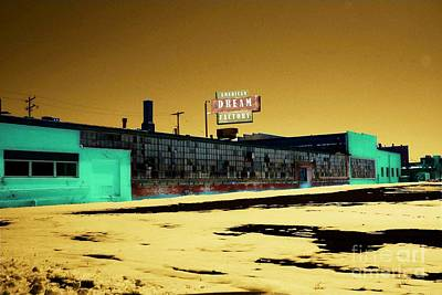 The American Dream Digital Art - American Dream Factory by Desiree Paquette