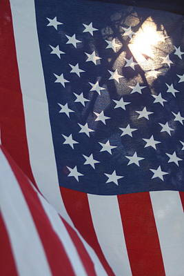 Gallery Photograph - American Flag - 01131 by DC Photographer