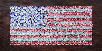 American Flag Original by Kay Galloway