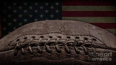 American Football Print by Edward Fielding