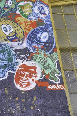American Grafitti Print by E Osmanoglu