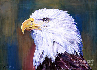 Endangered Wildlife Painting - American Guardian by David Lloyd Glover