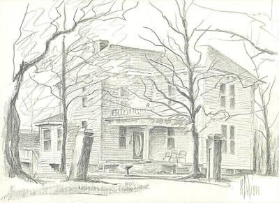 Nobody Drawing - American Home II by Kip DeVore