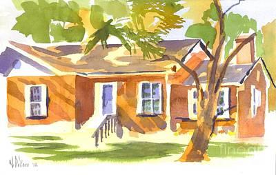 American Home V Print by Kip DeVore