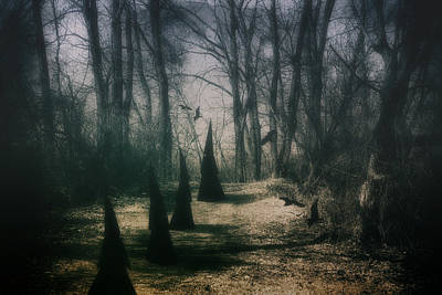 Dirt Roads Photograph - American Horror Story - Coven by Tom Mc Nemar