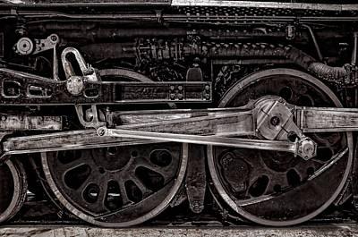 Locomotive Wheels Photograph - American Iron by Ken Smith