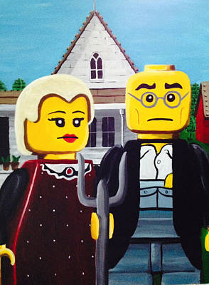 American Legothic Original by Patrick Webb