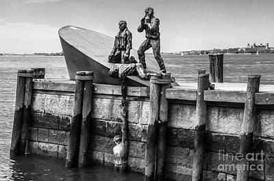 Merchant Mariners Photograph - American Merchant Mariners Memorial New York City by Anthony Sacco